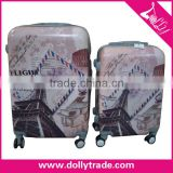 20'' 24'' 28'' Women Travel Trolley ABS+PC OEM Personalized Luggage Sets/Colorful Zipper Luggage