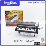 Baby edcational toys manufacturers china mini piano keyboard mini kids toys plastic musical instruments
