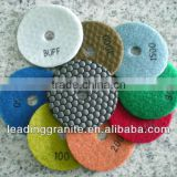 diamond flexible granite polishing pads