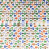 High quality garment fabric fire balloon printed cotton fabric