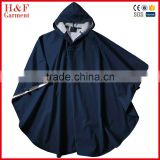 youth poncho PVC raincoats motorcyle outer wear rain jacket