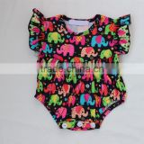Wholesale boutique clothing china Fashion smocked clothes for little girls boutique baby cartoon romper