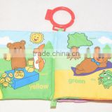 Fashionable Educational Wholesale Baby Fabric Book,Book Binding Cloth,Baby Cloth Book From China