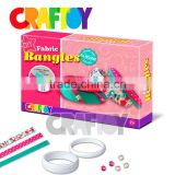 Fabric Bangles Girl craft diy toy set trendy jewellery set