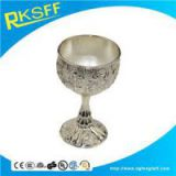 Zinc Alloy Silver Slim-legged Kiddush Cups