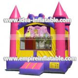 inflatable princess theme printing bounce house ID-MD1009