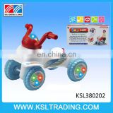 Plastic baby cars with music and light for kids