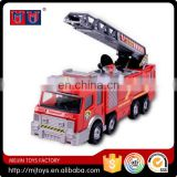 Frictional Fire Truck toys with lignt and music for wholesale