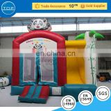 TOP INFLATABLES fire truck dragon bounce house with low price