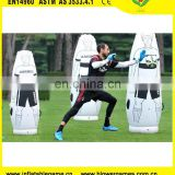 1.8m soccer mannequin goalkeeper inflatable football training dummy
