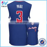 Dongguan Yihao 100% Polyester Men Latest Basketball Jersey Design Custom Printed Basketball Jersey V-neck Basketball Uniform