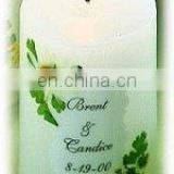 Personalized Medium Favor Candle
