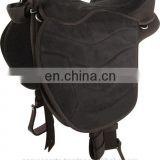 trail saddle - WESTERN TRAIL HORSE BLACK LEATHER SADDLE BAG OR MOTORCYCLE SADDLE BAGS