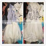 Facotry export rejected per kg overseas cute girl dresses