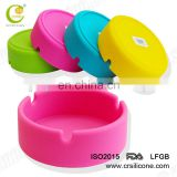 Funny silicone rubber pocket ashtray good quality colorful ashtray novelty ashtrays