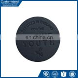 China Custom PU Leather Label Design For Jeans