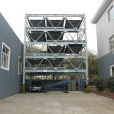 puzzle car parking system 6 floors lift-sliding auto parking system