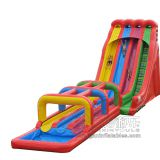 Inflatable slip and slide inflatable water slide axs-02