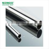 ASTM 201 2B/Brushed/Bright/Mirror Finish ISO9001 Welded Stainless Steel Pipe for Stair Handrail Production