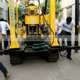 Soil investigation drilling rig hydraulic water well drilling machine