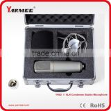YARMEE hot selling recording studio equipment wired microphone condenser studio recording mics