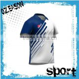 digital printing cricket jersey team pattern name for cricket factory