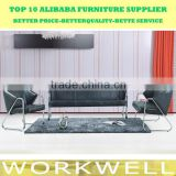 Workwell office sofa set design,3+2+1 office sofa set kw-SS06