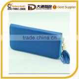 fine designer leather ladies clutch wallet