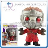 Mini Qute Funko Pop Guardians of the Galaxy Star-Lord super hero action figures cartoon models educational toy NO.FP 47