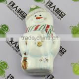 Christmas Snowman Shape Gift Mint Tin Box