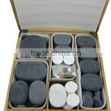 Easy to be hot basalt massage stone kit