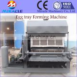 Egg tray production machines, pulping waste paper, forming paper pulp egg tray, drying system of eggs tray