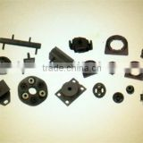 Molded Rubber Parts, Engine gasket and radiator mattress assembly, gasket and bush of support lever