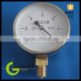Hot!!! Manufacturer supply low price VG series Stainless steel oil, air, hydraulic, water Pressure Gauge manometer