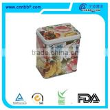 Food grade,Chewing gum tin box,Square tin box food box gift personalized tinbox