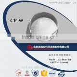 CP-55 Micro Glass Bead/loss weight additive for Oil Well Cement Oilfield chemicals