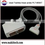 used Toshiba ultrasound linear probe PLT-805AT doppler color transducer
