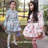 China factory direct price sweet style girls windbreaker