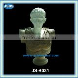 decorative modern marble greek bust sculpture