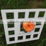 Home decoration Samples of multi openings and White color matboard for baby first year photos