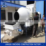 2015 HBT1506-JZC350 Concrete Mixer With Pump with diesel engine                                                                         Quality Choice