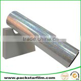 Cosmetic packaging industrial use iridescent aluminium foil film