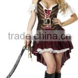 Top new fashion style high quality sexy pirate costumes wholesale coaplay costume BWG-2269