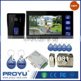 7 inch LCD dispaly Apartment Video Intercom Door Phone Kit + Power supply E-Lock Whole sale