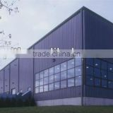 modular prefabricated steel structure gallery/exhibition hall