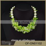 New Arrival China Supplier Jewelry Fashion Pearl Acrylic Bead Necklace