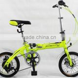 14 INCH SUSPENSION BIKE FOLDING /6 SPEED PORTABLE BIKE FOLDING/DISC BRAKE/ FACTORY SUPPLY
