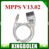 SMPS MPPS V13.02 CAN Flasher Chip Tuning ECU Remap OBD2 MPPS V13 Professional Diagnostic Cable