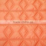 Quilted fabric for down coats and jackets, winter thermal quilted fabric,cotton padding fabric
