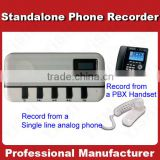 1 Channel Standalone Telephone Call Recorder MP3 format Caller ID Dispaly Sound Box FSK DTMF TF Card Professional Voice Logger